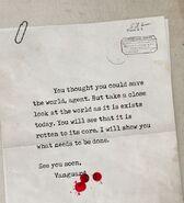 Aaron Keener's Letter