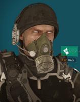 Striker mask