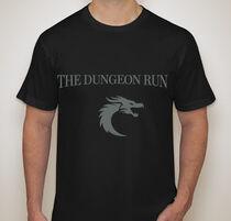 Dungeon run shirt front