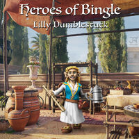 Heroes of bingle Lilly Dumblestuck1
