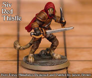 Jason Brown Minis Siv RedThistle