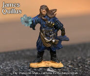 Dungeon Run Minis James Quillus
