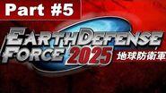 Earth Defense 2025 Walkthrough Mission 5 Wind Break