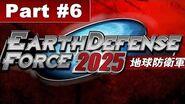Earth Defense 2025 Walkthrough Mission 6 Underground Cave