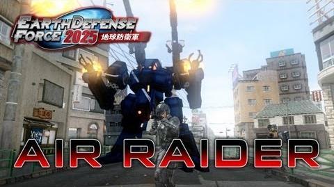 Earth Defense Force 2025 - PS3 X360 - Air Raider (E3 2013 trailer)