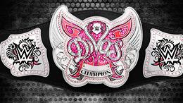 The WWE Divas Championship's current belt design