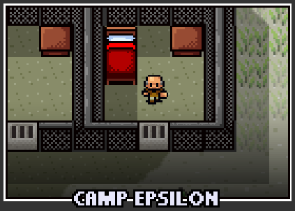 The prison selection screen for Camp Epsilon