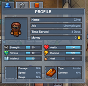 An image depicting the Escapists 2 player menu