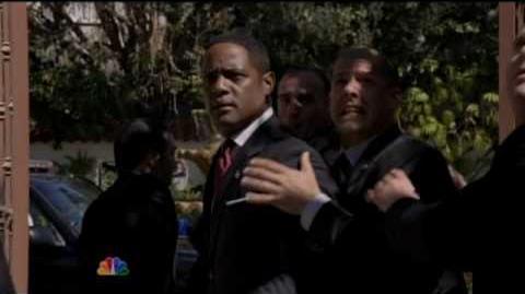 Jason Ritter as Sean Walker - The Event Commercial