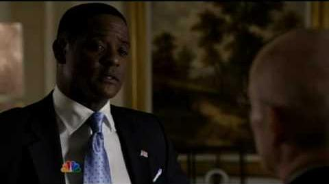 Blair Underwood as President Martinez- The Event Commercial