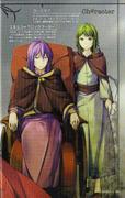 Perfiles de Elluka y Gumillia (Quinto Pierrot)