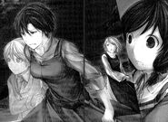 Allen, Germaine, Rin y Yukina