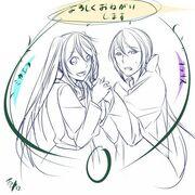 Michaela y Clarith (Ichika)