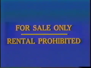 Walt Disney Home Entertainment FBI Warning 2e