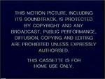 Buena Vista 1990 Warning Screen