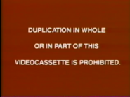 Walt Disney Home Entertainment FBI Warning 9c