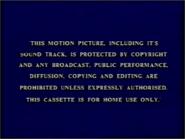 Buena Vista 1988 Warning Screen