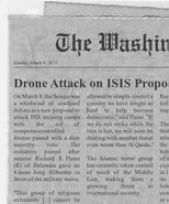 Drone Attack on ISIS Proposal