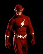 Barry Allen as the Flash promotional