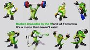 Rocket Crocodile in the World of Tomorrow by Jason MacIsaac - Karaoke Version