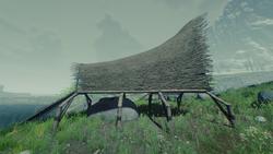 water hut