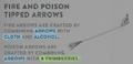 SurvivalGuide-FirePoisonArrows.png