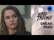 Good Trouble Season 3, Episode 13 - Sneak Peek- Callie's Team Interviews Witnesses - Freeform