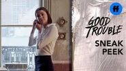 Good Trouble Season 1, Episode 3 - Sneak Peek- Why Is Callie Sneaking Around? - Freeform
