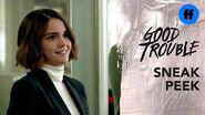 Good Trouble Season 2, Episode 4 Sneak Peek Callie Starts Her New Job Freeform