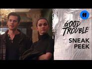 Good Trouble Season 3, Episode 9 - Sneak Peek- Tony Shows Up At The Coterie - Freeform