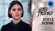 Good Trouble Season 1, Episode 12 Callie Discovers a Scandal Freeform