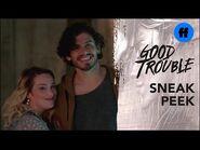 Good Trouble Season 3, Episode 7 - Sneak Peek- Davia Invites Matt to The Coterie - Freeform
