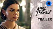 Good Trouble Summer Finale Trailer Callie's Secret Is Out