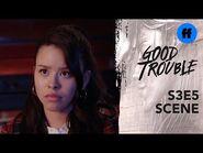 Good Trouble Season 3, Episode 5 - Mariana & Evan Set Boundaries - Freeform