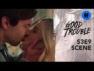 Good Trouble Season 3, Episode 9 - Davia & Matt Kiss - Freeform