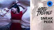 Good Trouble Season 1, Episode 4 - Sneak Peek- Callie Works While Mariana Plays - Freeform