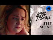 Good Trouble Season 3, Episode 7 - Dennis Tells Davia To Move On - Freeform