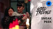 Good Trouble Season 2 Holiday Special Sneak Peek Whiskey & Croutons Freeform