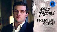 Good Trouble Season 2 Premiere Jamie Tells Callie He Loves Her Freeform