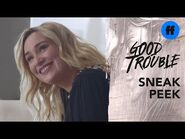 Good Trouble Season 3 Episode 13 - Sneak Peek- Davia and Matt Celebrate - Freeform