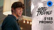 Good Trouble Season 1, Episode 8 Promo Here Comes Noah Centineo