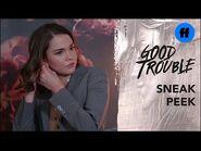 Good Trouble Season 3, Episode 5 - Sneak Peek- Can Callie Trust Kathleen? - Freeform