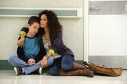 Lena and jude at hospital