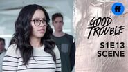 Good Trouble Season 1 Finale Mariana & The Byte Club Stand Together Freeform