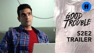 Good Trouble Season 2, Episode 2 Trailer Mariana & Raj Hook Up at Work