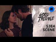 """Good Trouble Season 3, Episode 4 - Jamie Wants To """"Talk"""" To Callie - Freeform"""