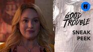 Good Trouble Season 2, Episode 12 Sneak Peek Davia is Ready to Talk to Dennis Freeform