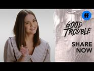 """Good Trouble x ATTN- Season 3 - """"The Trouble With"""" Being Too Nice - Freeform"""