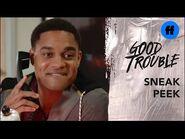 Good Trouble Season 3, Episode 5 - Sneak Peek- Malika and Dyonte Compete - Freeform