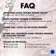 FAQ Good Trouble S2